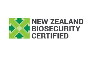 New Zealand Biosecurity certified